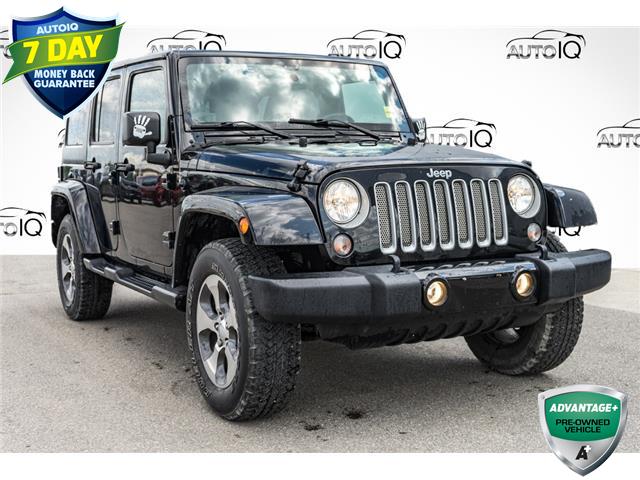 2018 Jeep Wrangler JK Unlimited Sahara (Stk: 44168AU) in Innisfil - Image 1 of 22