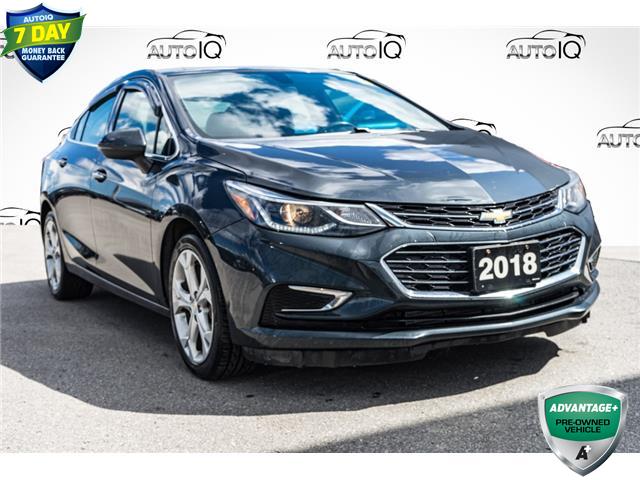 2018 Chevrolet Cruze Premier Auto (Stk: 45102AUX) in Innisfil - Image 1 of 23