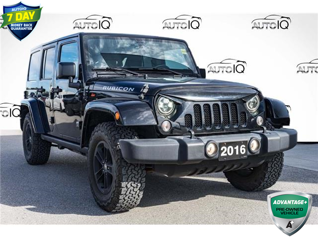 2016 Jeep Wrangler Unlimited Rubicon (Stk: 45176AU) in Innisfil - Image 1 of 19