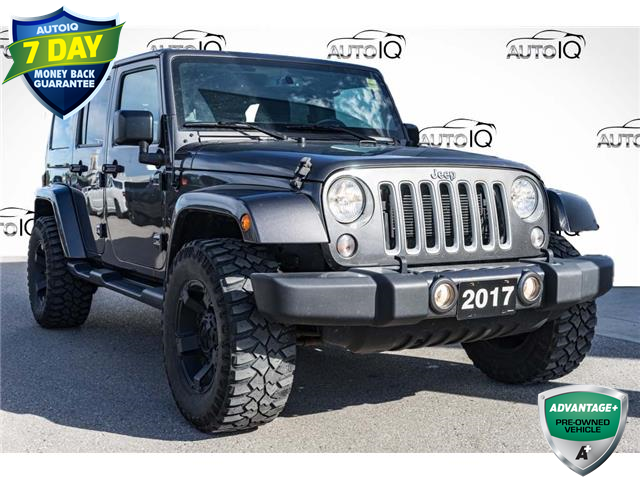 2017 Jeep Wrangler Unlimited Sahara (Stk: 45169AUX) in Innisfil - Image 1 of 21