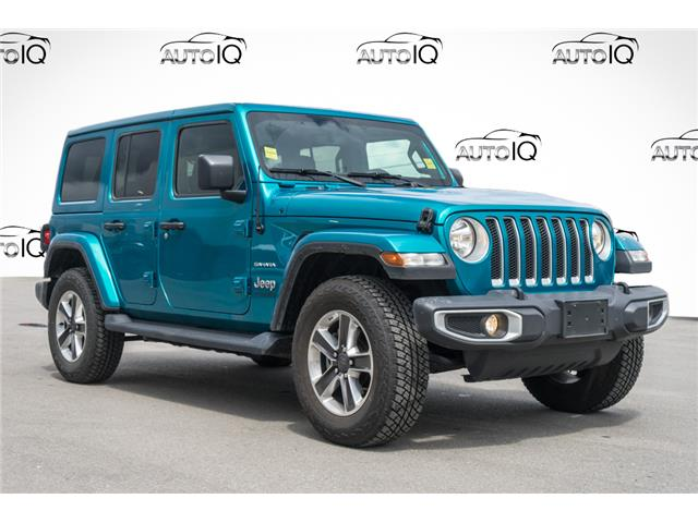 2019 Jeep Wrangler Unlimited Sahara (Stk: 43891AU) in Innisfil - Image 1 of 26