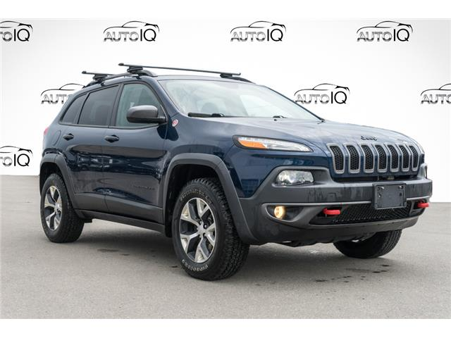 2018 Jeep Cherokee Trailhawk (Stk: 43880AU) in Innisfil - Image 1 of 26