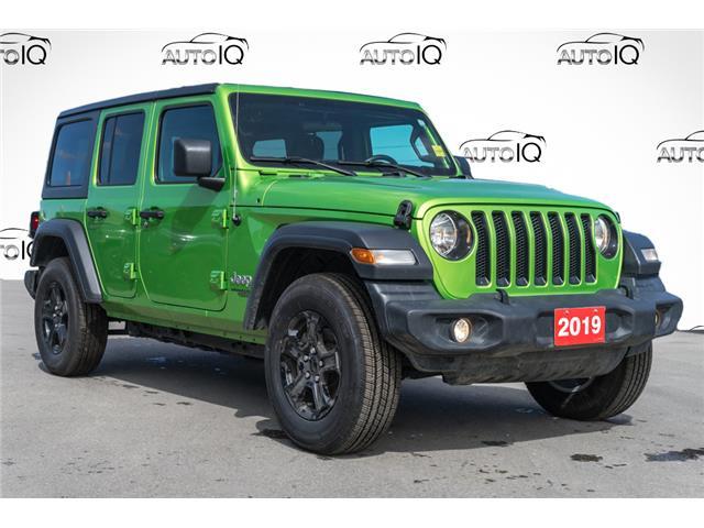 2019 Jeep Wrangler Unlimited Sport Green