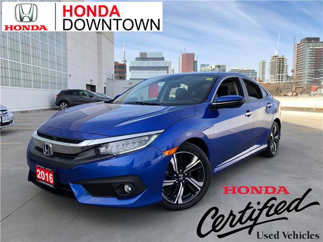 2016 Honda Civic Touring (Stk: HP3753) in Toronto - Image 1 of 31