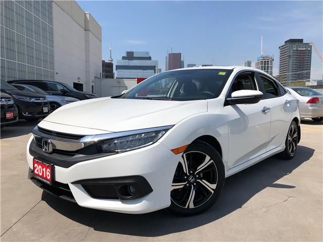 2016 Honda Civic Touring (Stk: HP3781) in Toronto - Image 1 of 31