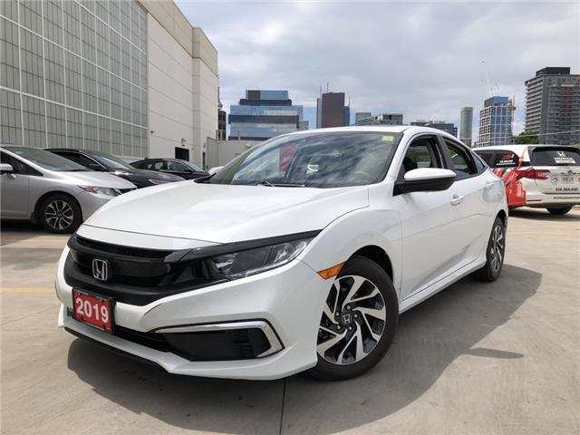 2019 Honda Civic EX (Stk: V20396A) in Toronto - Image 1 of 28