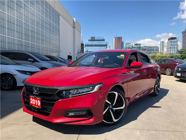 2019 Honda Accord Sport 1.5T (Stk: V20538A) in Toronto - Image 1 of 29