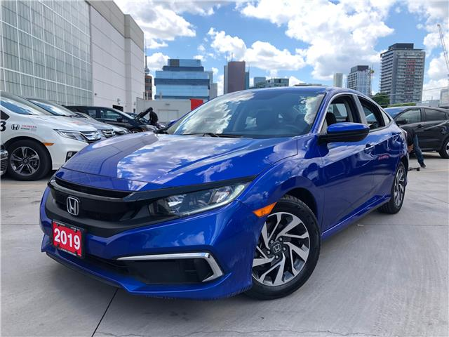 2019 Honda Civic EX (Stk: A20611A) in Toronto - Image 1 of 26