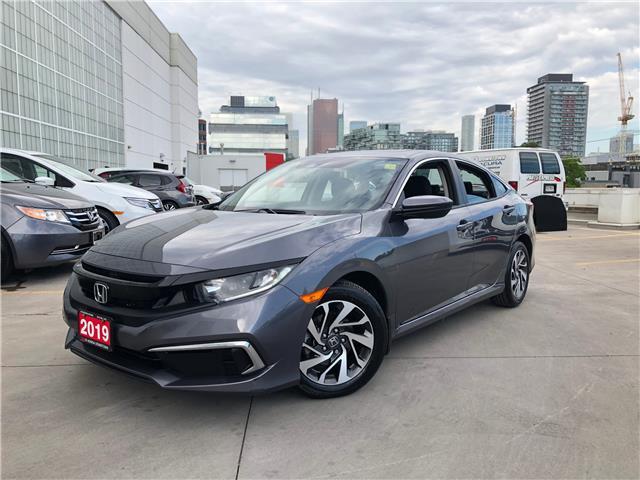 2019 Honda Civic EX (Stk: C20105A) in Toronto - Image 1 of 29