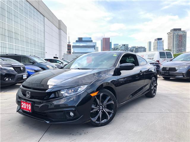 2019 Honda Civic Sport (Stk: V201010A) in Toronto - Image 1 of 10