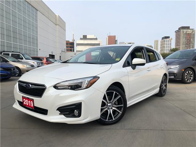2019 Subaru Impreza Sport (Stk: V20125A) in Toronto - Image 1 of 30