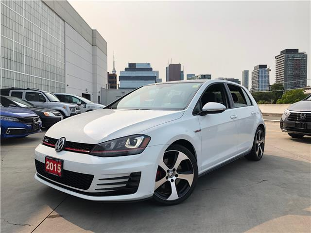 2015 Volkswagen Golf GTI 5-Door Autobahn (Stk: V20770A) in Toronto - Image 1 of 31