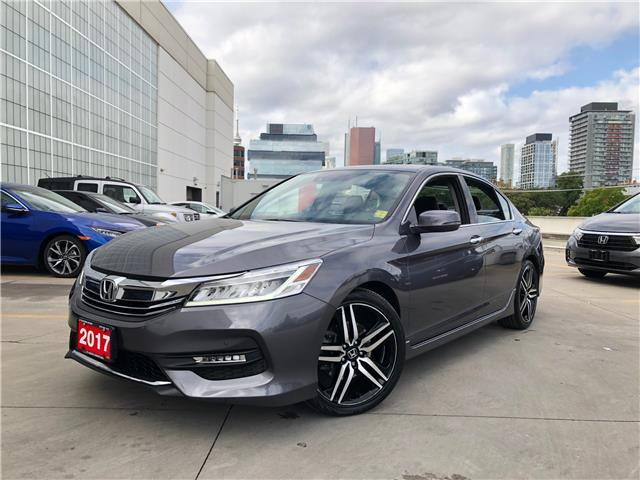 2017 Honda Accord Touring V6 (Stk: A20739A) in Toronto - Image 1 of 34