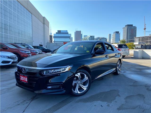 2018 Honda Accord EX-L (Stk: A20542A) in Toronto - Image 1 of 31