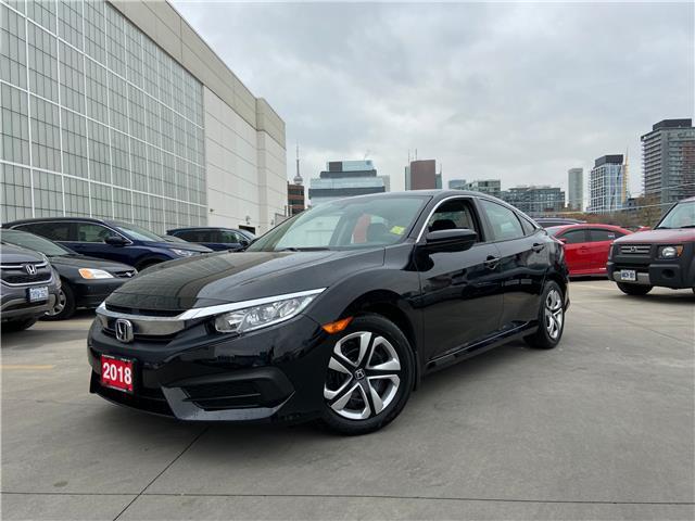 2018 Honda Civic LX (Stk: C20930A) in Toronto - Image 1 of 3