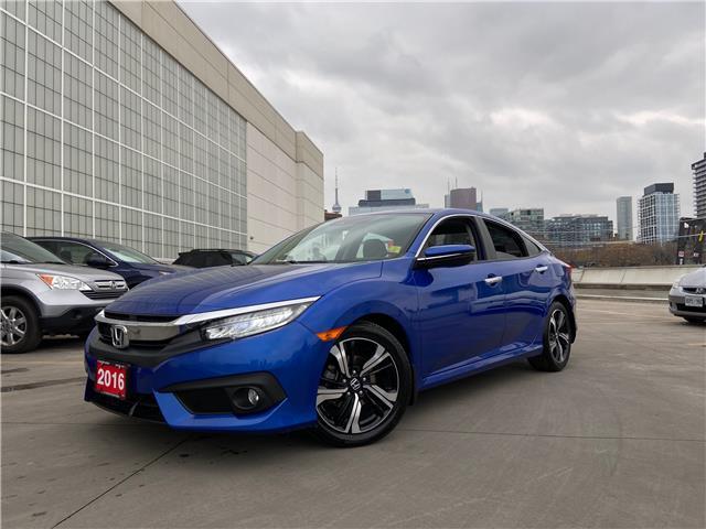 2016 Honda Civic Touring (Stk: C201112A) in Toronto - Image 1 of 31