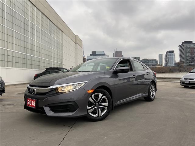 2018 Honda Civic LX (Stk: HP4075) in Toronto - Image 1 of 3