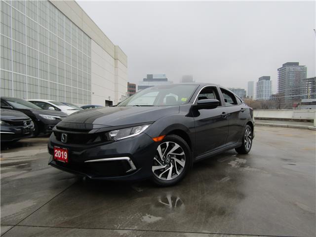 2019 Honda Civic EX (Stk: V201192A) in Toronto - Image 1 of 30