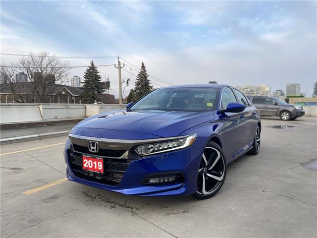 2019 Honda Accord Sport 1.5T (Stk: A201250A) in Toronto - Image 1 of 24