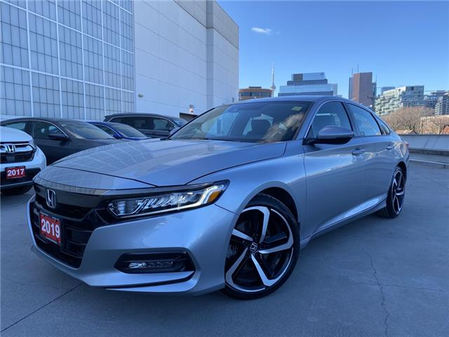 2019 Honda Accord Sport 1.5T (Stk: A21213A) in Toronto - Image 1 of 34