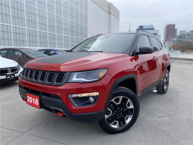 2018 Jeep Compass Trailhawk (Stk: V201167B) in Toronto - Image 1 of 28
