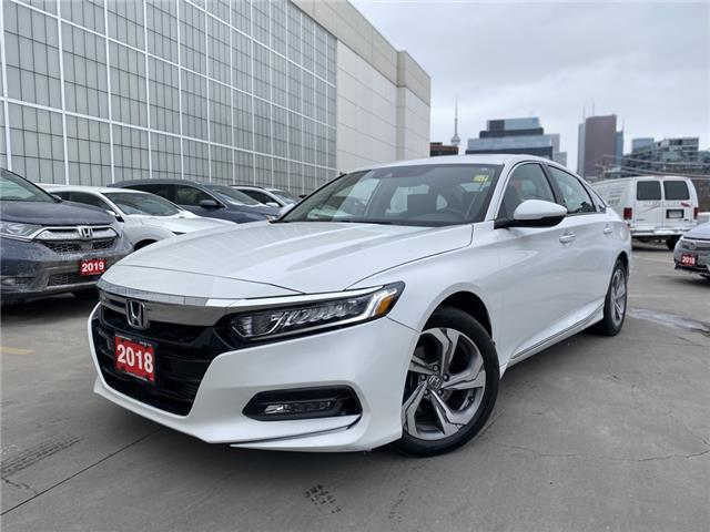 2018 Honda Accord EX-L (Stk: A20496A) in Toronto - Image 1 of 31