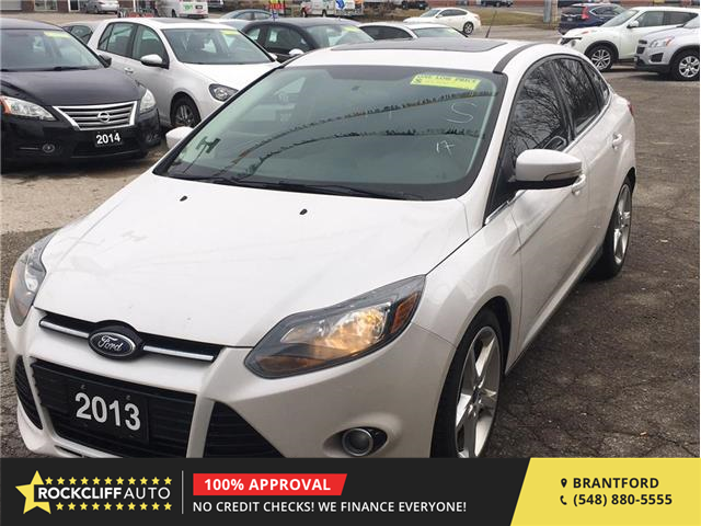 2013 Ford Focus Titanium (Stk: F191393) in Brantford - Image 1 of 18