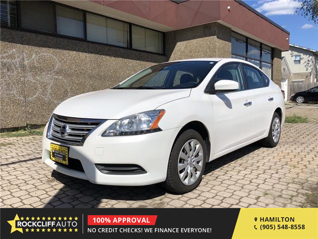 2015 Nissan Sentra 1.8 S (Stk: N646217) in Hamilton - Image 1 of 16