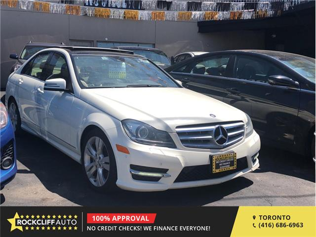 2012 Mercedes-Benz C-Class Base (Stk: 638843) in Scarborough - Image 1 of 17