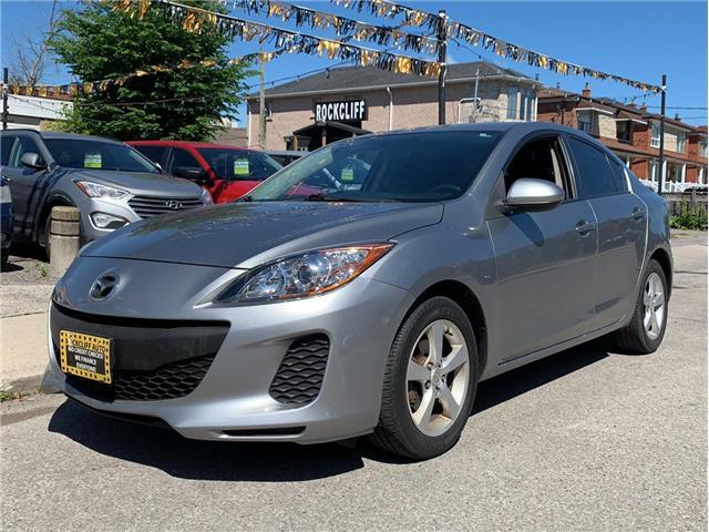 2013 Mazda Mazda3 GX (Stk: 717704) in Scarborough - Image 1 of 11