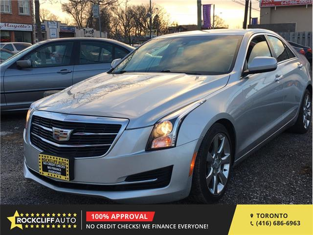 2015 Cadillac ATS Sedan  (Stk: 129131) in Scarborough - Image 1 of 10