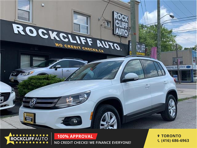 2017 Volkswagen Tiguan Trendline (Stk: 004015) in Scarborough - Image 1 of 18