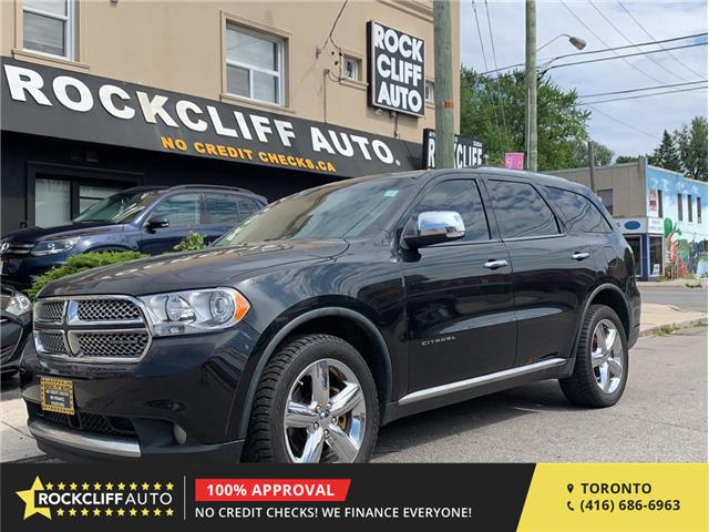2012 Dodge Durango Citadel (Stk: 104211) in Scarborough - Image 1 of 22
