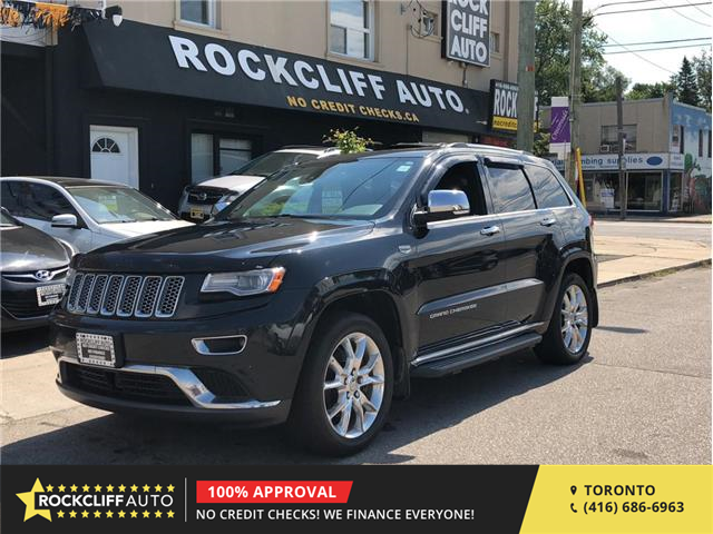 2014 Jeep Grand Cherokee Summit (Stk: 450852) in Scarborough - Image 1 of 30
