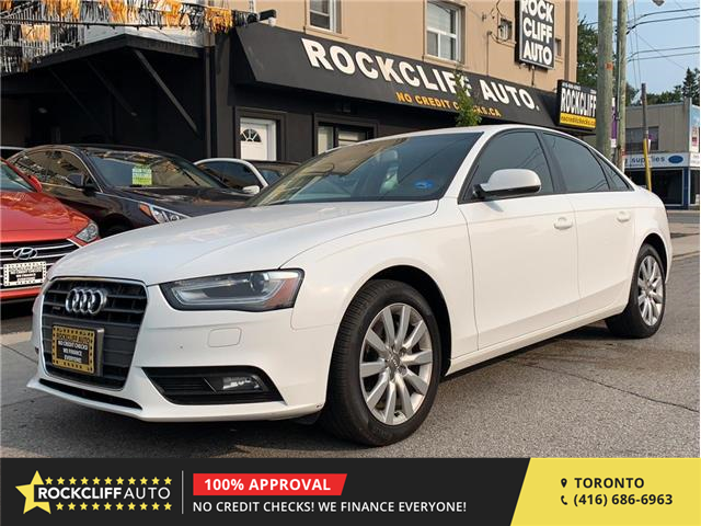 2014 Audi A4 2.0 Komfort (Stk: 014625) in Scarborough - Image 1 of 17