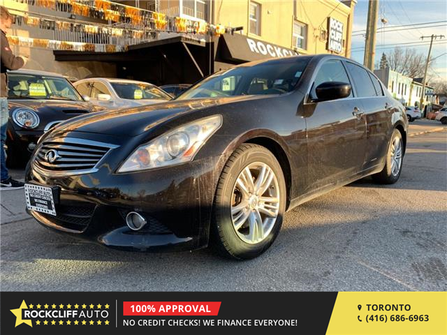 2011 Infiniti G25 Luxury (Stk: 603665) in Scarborough - Image 1 of 12
