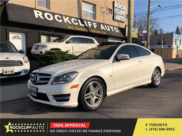 2012 Mercedes-Benz C-Class Base (Stk: 850554) in Scarborough - Image 1 of 23
