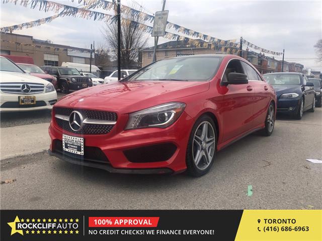 2014 Mercedes-Benz CLA-Class Base (Stk: 094141) in Scarborough - Image 1 of 17