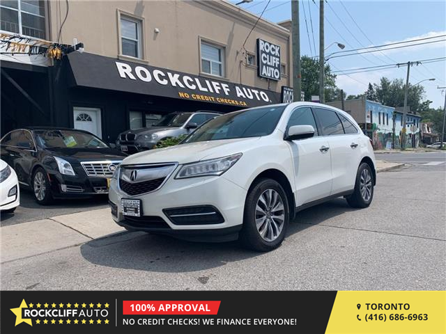 2014 Acura MDX Navigation Package (Stk: 502553) in Scarborough - Image 1 of 21