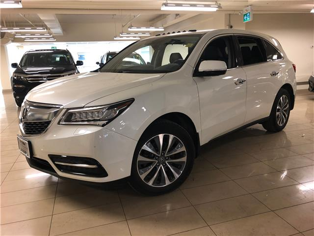 2016 Acura MDX Technology Package (Stk: AP3619) in Toronto - Image 1 of 31