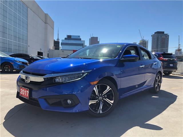 2017 Honda Civic Touring (Stk: C20123A) in Toronto - Image 1 of 32