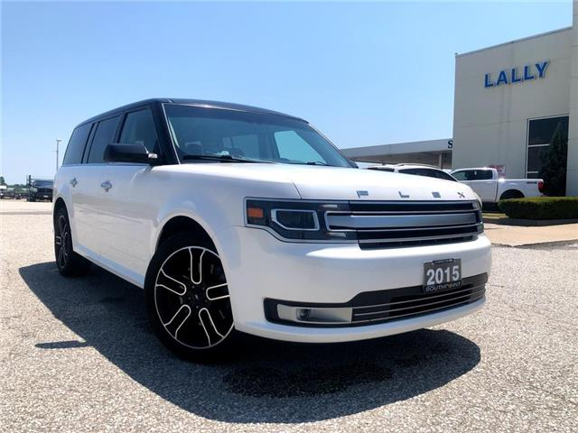 2015 Ford Flex Limited (Stk: S10514) in Leamington - Image 1 of 26