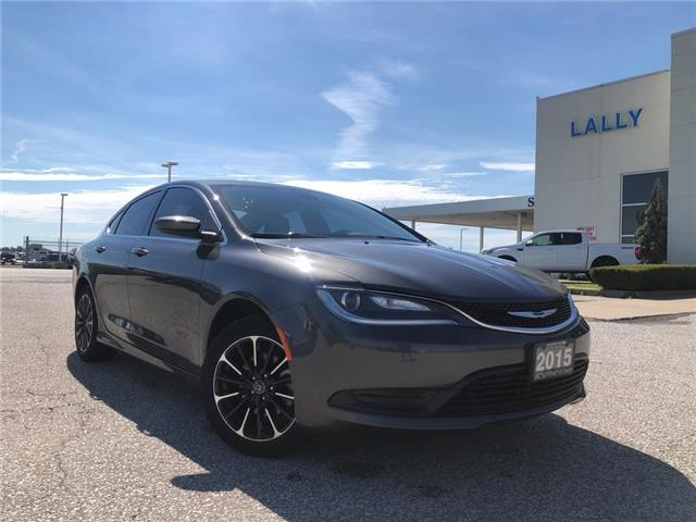 2015 Chrysler 200 LX (Stk: S6679A) in Leamington - Image 1 of 21