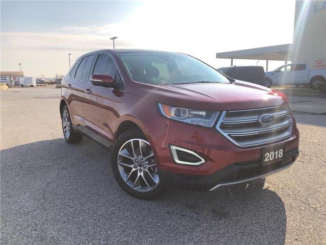 2018 Ford Edge Titanium (Stk: S6805A) in Leamington - Image 1 of 23
