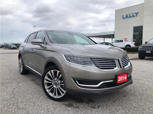 2016 Lincoln MKX Reserve (Stk: S10583) in Leamington - Image 1 of 25