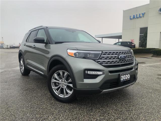 2020 Ford Explorer Limited (Stk: S10582R) in Leamington - Image 1 of 27