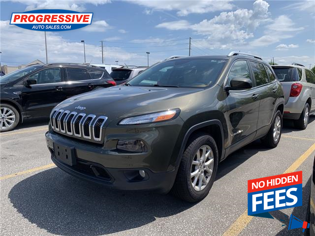 2015 Jeep Cherokee North (Stk: FW755666T) in Sarnia - Image 1 of 7