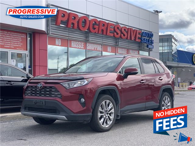 2019 Toyota RAV4 Limited (Stk: KW020890) in Sarnia - Image 1 of 11