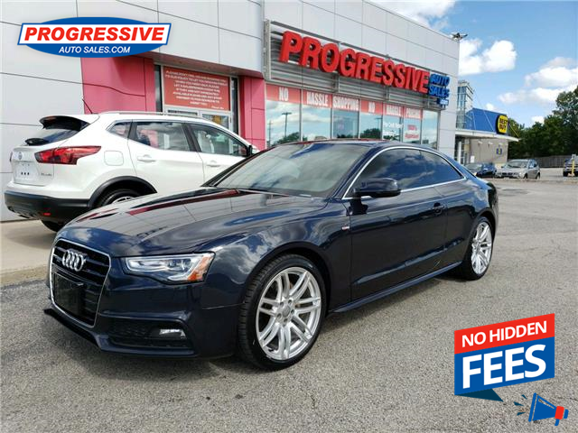 2016 Audi A5 2.0T Technik plus (Stk: GA045849) in Sarnia - Image 1 of 25