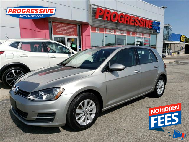 2016 Volkswagen Golf 1.8 TSI Highline (Stk: GM047637) in Sarnia - Image 1 of 24